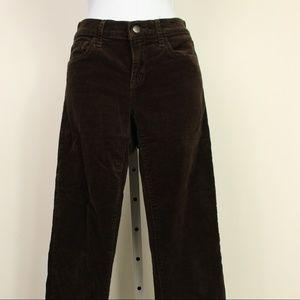 Gap brown 1969 skinny boot corduroy pants